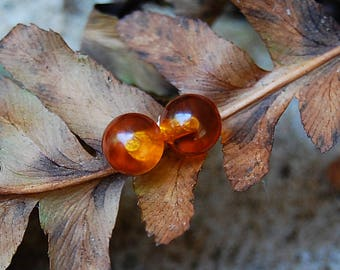 Ambre - Amber Gemstone Stud Earrings, Earrings, gemstone earrings, stud earrings, amber gems, gift idea, for her, woman, youth, birthday