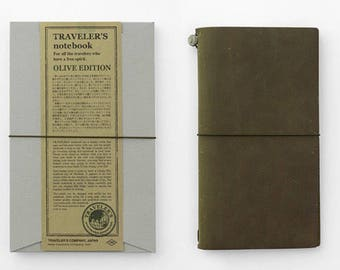 New-Traveler's Notebook Olive Edition