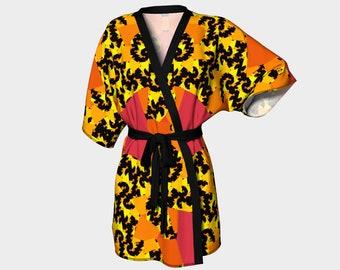 Autumn Colors Kimono Robe