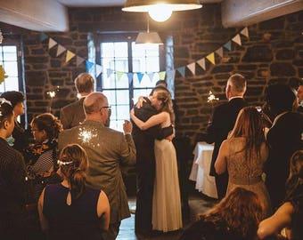 Custom Bunting, Custom Garland, Rustic Garland, Shabby Chic Garland, Autumn Wedding, Fabric Garland, yellow and Navy, Fall Garland, Circus