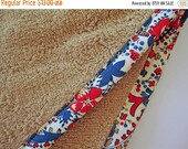 ON SALE TAN Hair Towel with Paisley Fabric Trim - Head Turban Towel Wrap - 100% Cotton Towel - Custom Towels - Red Blue Tan