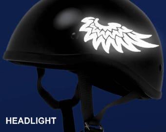 Lips Reflective Decal Kiss Helmet Sticker Smack Motorcycle - Motorcycle helmet decals graphicsmotorcycle helmet graphics the easy helmet upgrade