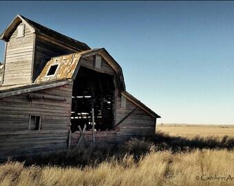 Broken Barn Limited Edition Giclee Print