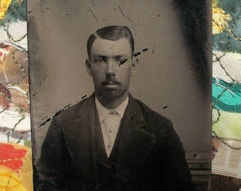 Tintype ~ Young Man Used & Abused