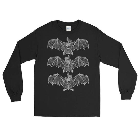 Bat Bones Long Sleeve T-Shirt