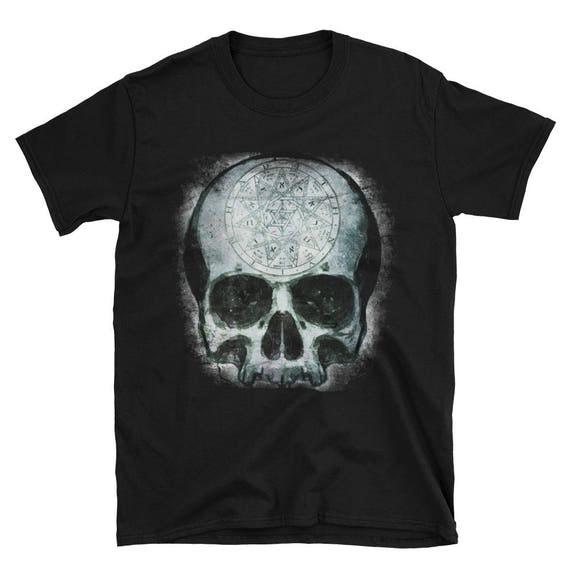 Occult Skull Short-Sleeve Unisex T-Shirt