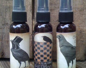 Prim Salt Box Room Sprays - Set of 3 - Choice of Scents - 2 oz Amber Bottles - Highly Scented - Only 11.99 #216