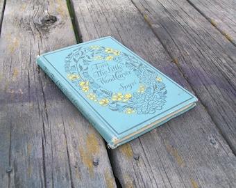 Vintage Book Toni The Little Woodcarver by Johanna Spyri 1920