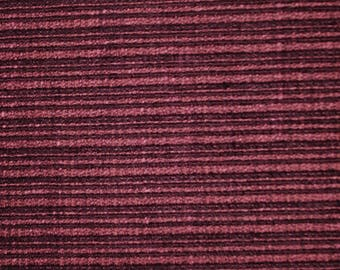 Barclay Purple Ribbed Chenille Upholstery Fabric