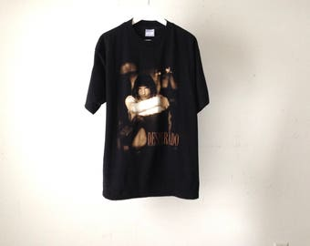 vintage 90s ANTONIO BANDERAS size xl INDIE movie t-shirt