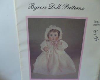 15 Inch Doll Sewing Pattern Gift, Byron Rachel Doll Pattern, Doll Dress Pattern, DIY Doll Dress, Baby Shower Gift, PioneerFundraiser