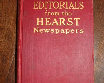 1906 Editorials from the Hearst Newspaper