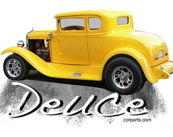 T-Shirt Little Deuce Coupe