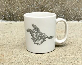 Vintage Cowboy Coffee Mug