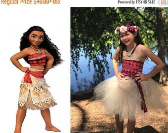 EARLYBIRD SALE Moana Inspired Tutu Dress Costume