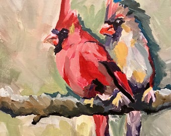 cardinal print by forgivingworks