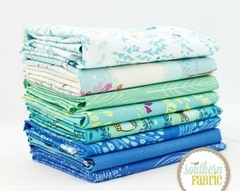 "Wee Wander - Twilight - 8 Half Yard (18""x44"") Bundle Quilt Fabric - by Sarah Jane for Michael Miller"