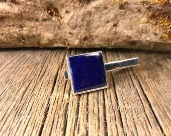 Tie Clip: Royal Lapis Lazuli