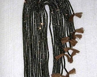Spinel, Bronze Spinel, Bronze Spinel Bead, Spinel Faceted Bead, Natural Stone, Semi Precious, Sparkle Bead, Full Strand, 2mm, AdrianasBeads