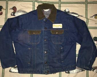 Vintage Key Imperial Denim Jacket Size 46  Reg