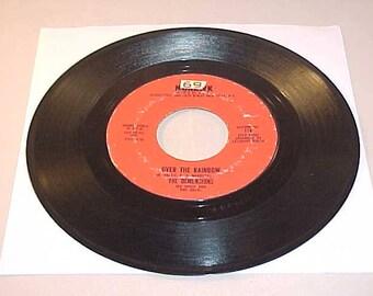 The Demensions 45 Vinyl Record - Over The Rainbow / Nursery Rhime Rock