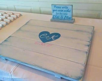 Wedding guest book alternative, guestbook alternative, wooden guest book, sign in board, wedding , sweet 16, anniversary