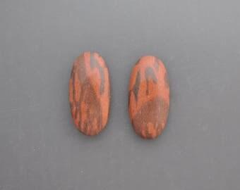Australian Print Stone Pair