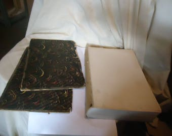 Antique 1916 An Encyclopedia Of Freemasonry Books Volume 1 & 2, vintage, collectable