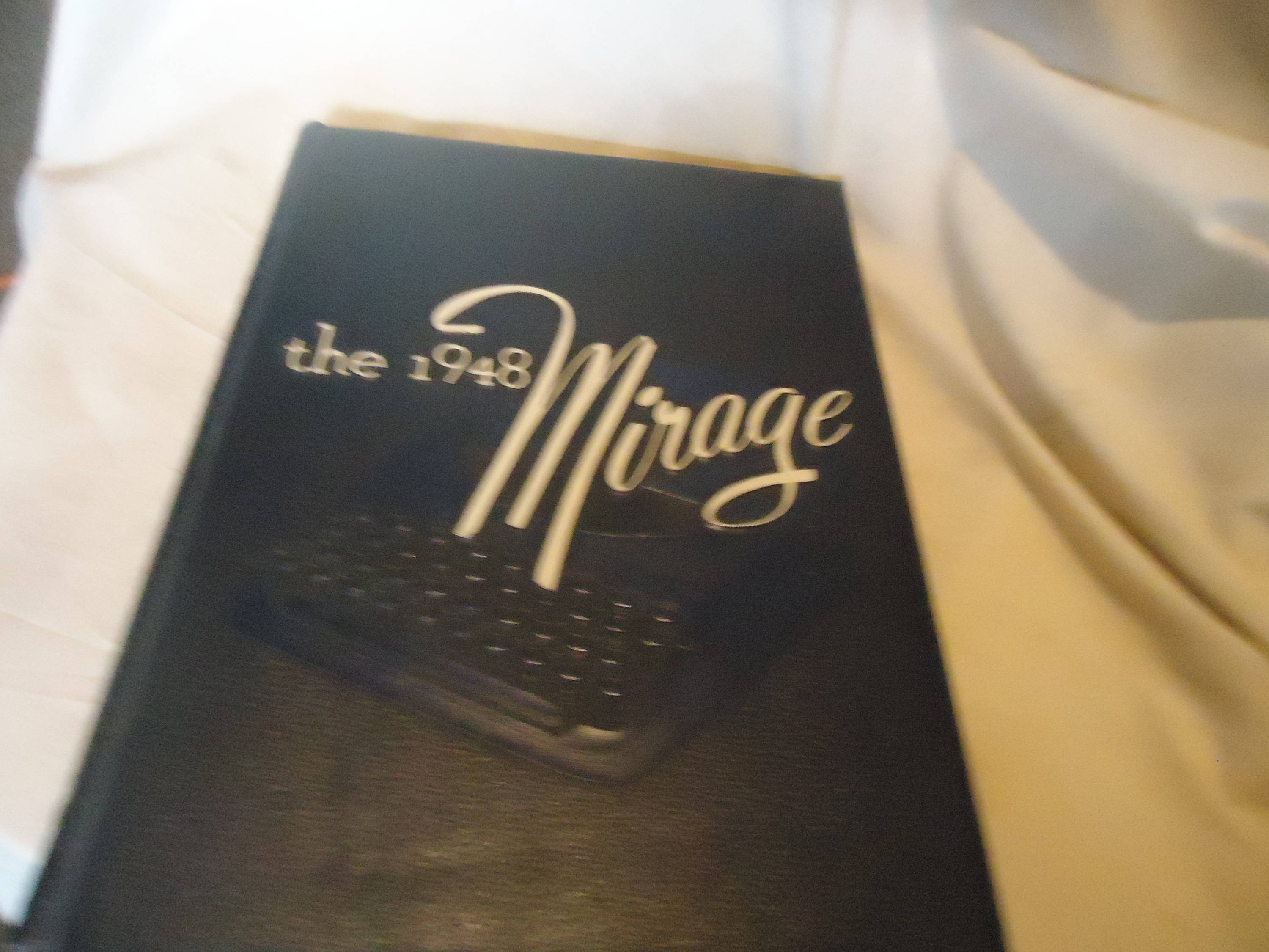 Vintage 1948 The Mirage DePauw University Yearbook or Annual Greencastle Indiana, collectable