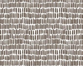 Brown dash crib sheet / Brown dash changing pad cover /blown dash Bedding /Mini Crib Bedding /Crib Bedding Set /Cot Bedding Minimalist