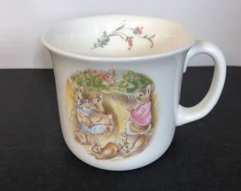 World of Beatrix Potter Child's Mug The Flopsy Bunnies by Royal Albert Bone China