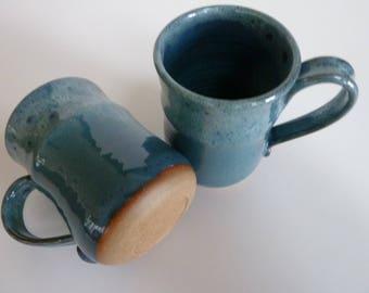 Mugs ,Pottery, Stoneware,Wheelthrown.