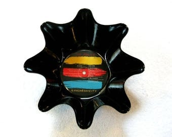 The Police Record Bowl Made From Vinyl Album - Sting
