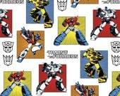 Transformers Cotton Quilt Fabric By the Yard 3.5 yards Reserved for  Sun Lee