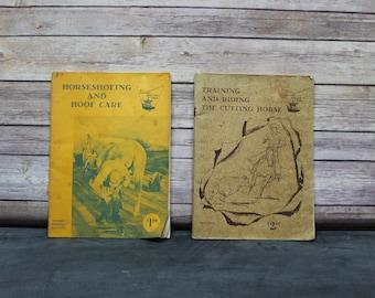 2 Vintage Western Horseman Magazines, A Western Horseman Book