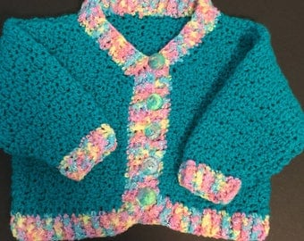 Bright Turquoise Sweater