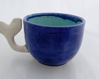 Call me Ishmael whale tail mug