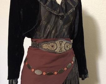 RESERVED CUSTOM Adult Women's Fortune Teller Halloween Costume - Pirate