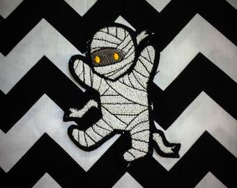 Cute mummy sew on or iron on patch