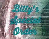 Bitty's Special Order -- Witchy Cat Hat