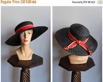20% Off Sale // 1930s Hat // Sunday Walk Da-Me Italian Hat // vintage 30s hat
