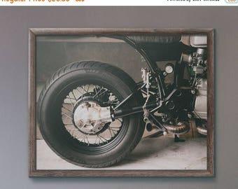 WEEKEND SALE Custom Honda CX Cafe Motorcycle Fine Art Print, Wall Decor, Wall Art, Motorcycle gift Ideas,