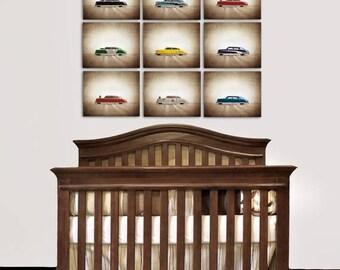Flash Sale Til Midnight On Sale Vintage Classic Argo Tin Cars Set Of Nine Photo