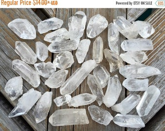 ON SALE: Clear Quartz Points from Diamontina, Brazil