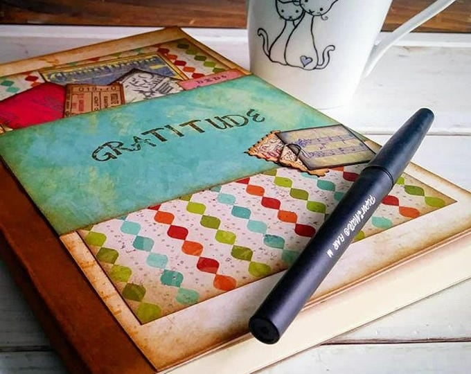 Featured listing image: Gratitude Journal Keepsake with Lined Pages