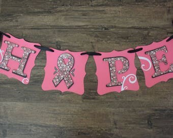 Hope - Breast Cancer Awareness Banner