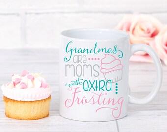 Grandma Mug - Grandma Gift - Coffee Mug - Coffee Lover Gift - Grandmother Christmas Gift - Ceramic Mug - Gift for Her - Coffee Cup