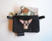 Fawn Chihuahua, (head 1) Dog Coin Purse