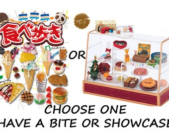 Rement Have A Bite or Showcase Miniature Foods 1:6 scale (US shipping included!)