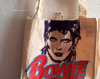 BRAND NEW david bowie tote bag